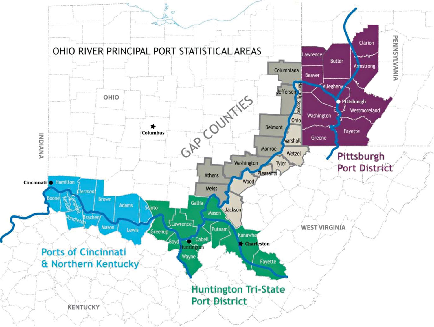 Mid-Ohio Valley Statistical Port District Gains Preliminary Approval