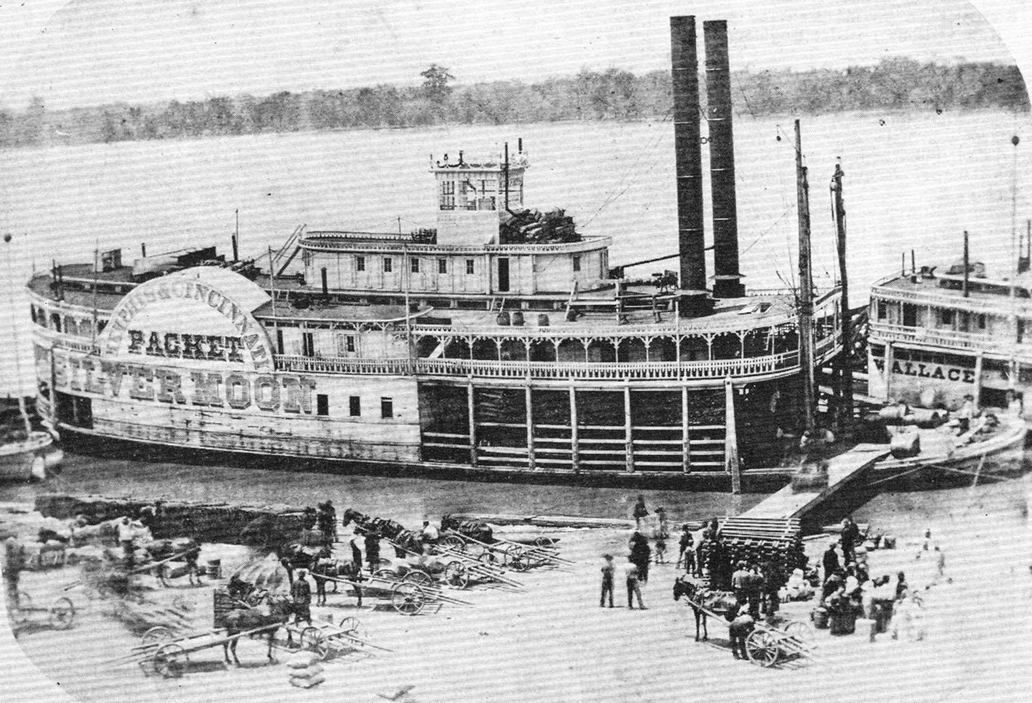 The Sidewheeler Silver Moon