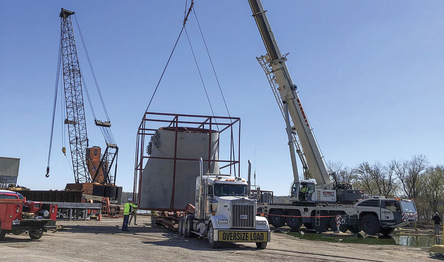 Jeffersonville Port To Handle Cargo For Cement Plant Expansion