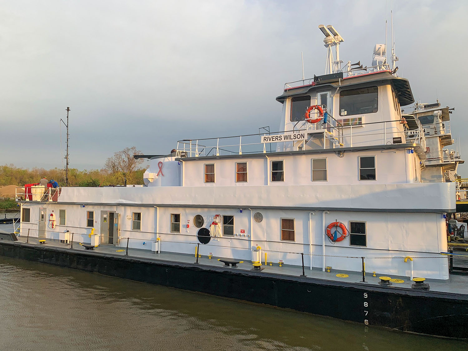 63-Year-Old Towboat Refurbished, Receives COI