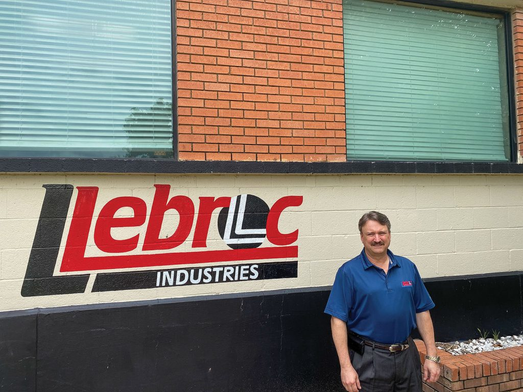 Llebroc Industries President Bryan Corbell leads the Fort Worth, Texas-based company, which has expanded its marine divisions over time. Products include helm seats for workboats. (Photo courtesy of Llebroc Industries)