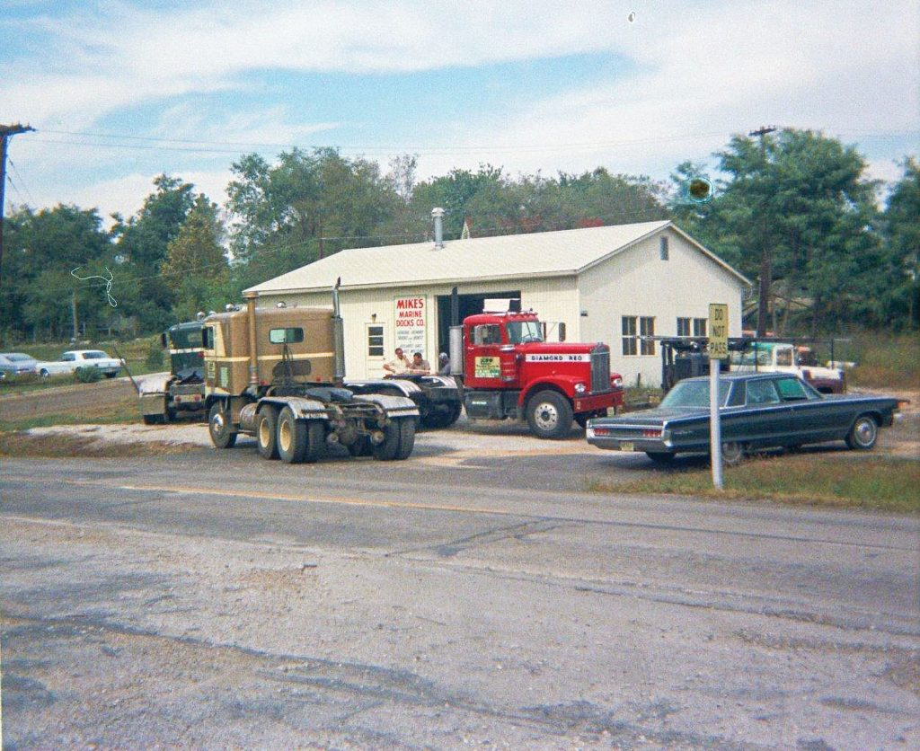 The original Mike's repair facility. (Photo courtesy of Mike's Inc.)