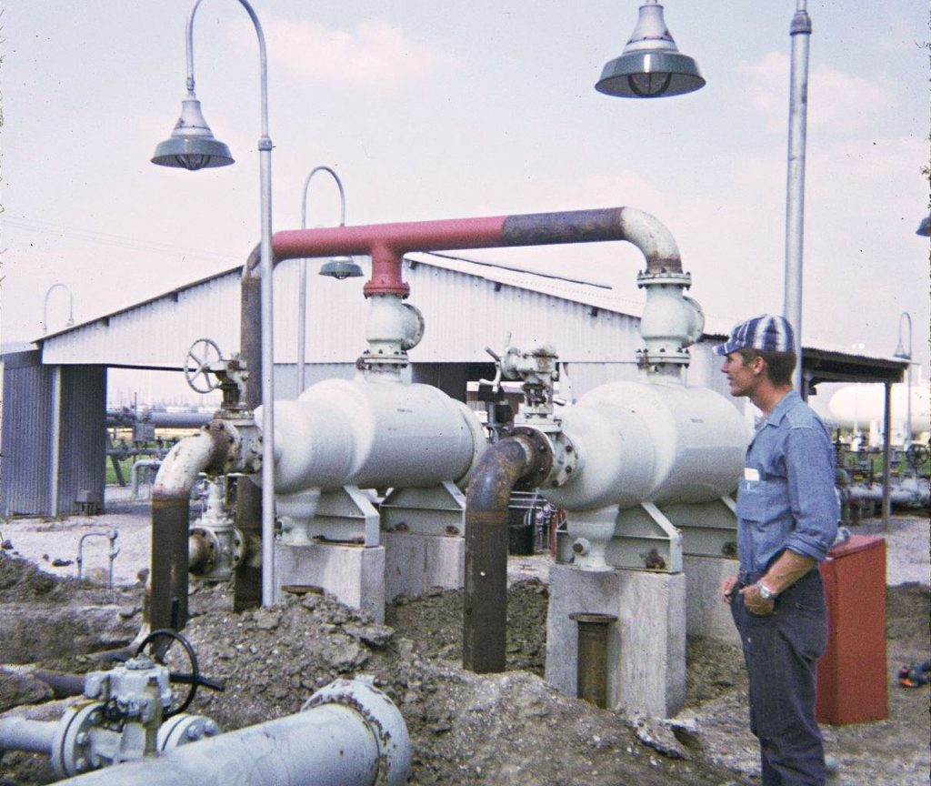 Prior to Mike's Inc., Mike Marko working as a pipeline welder.
