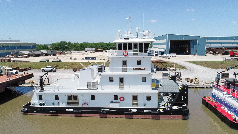 C&C Marine Delivers Mv. Ned Brooks To Maritime Partners