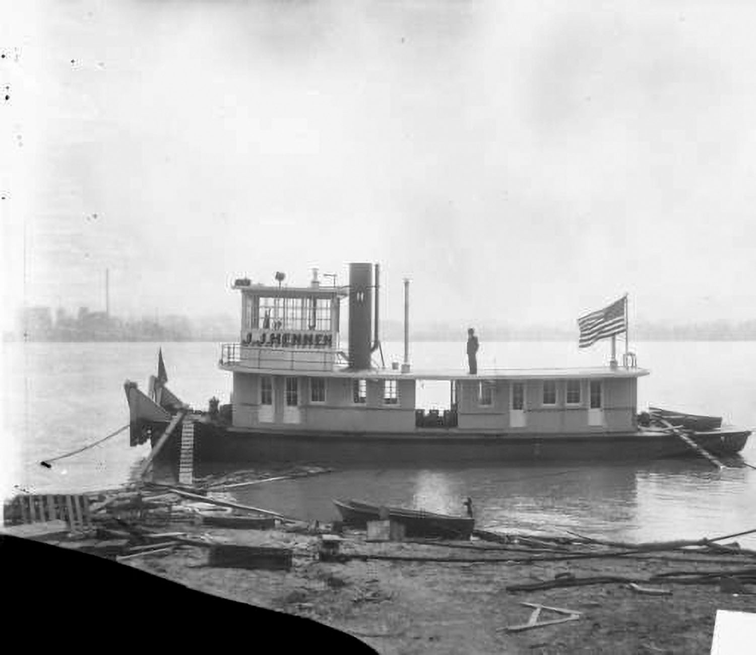 1928 Towboat From Howard Pioneered Flanking Rudders