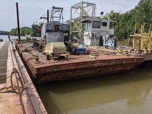 Wabash Crane Barge