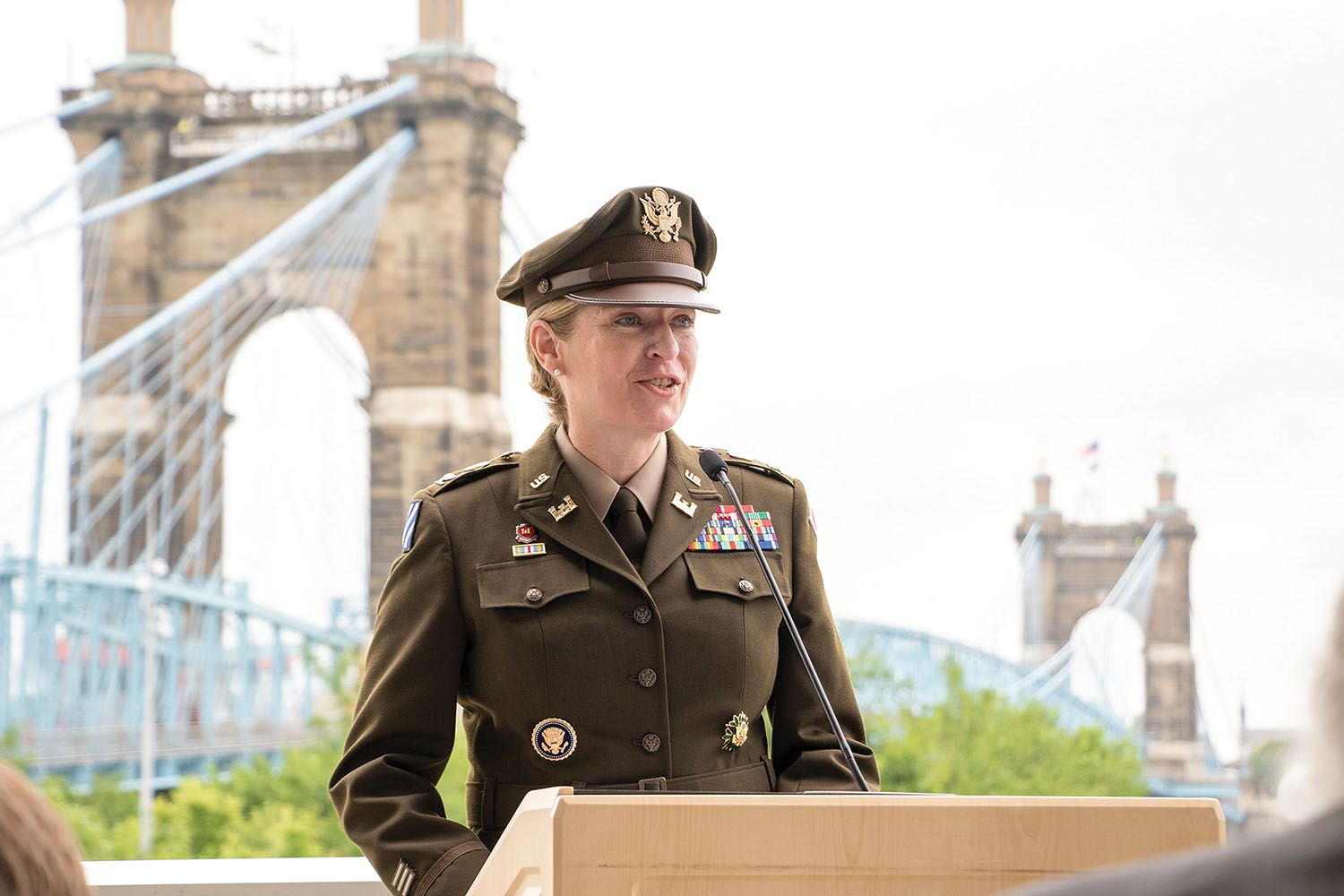 Peeples Takes Command Of Great Lakes And Ohio River Engineer Division