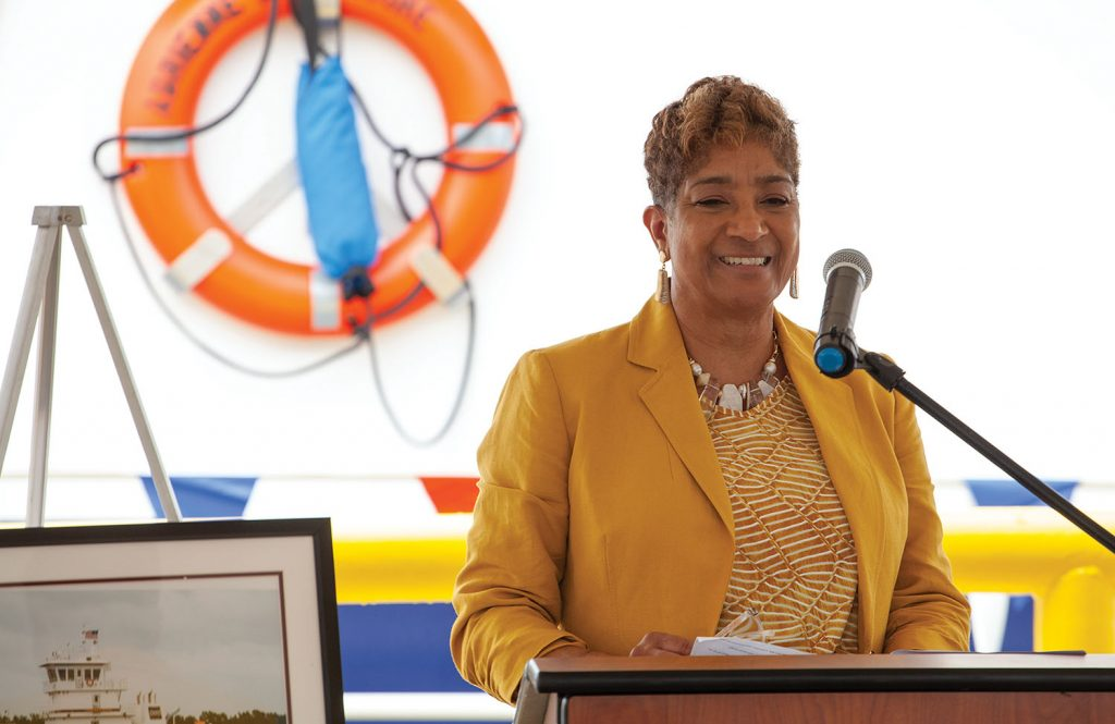 Adrienne Moore, Ingram's associate vice president-logistics and customer service. (Photo by Frank McCormack)