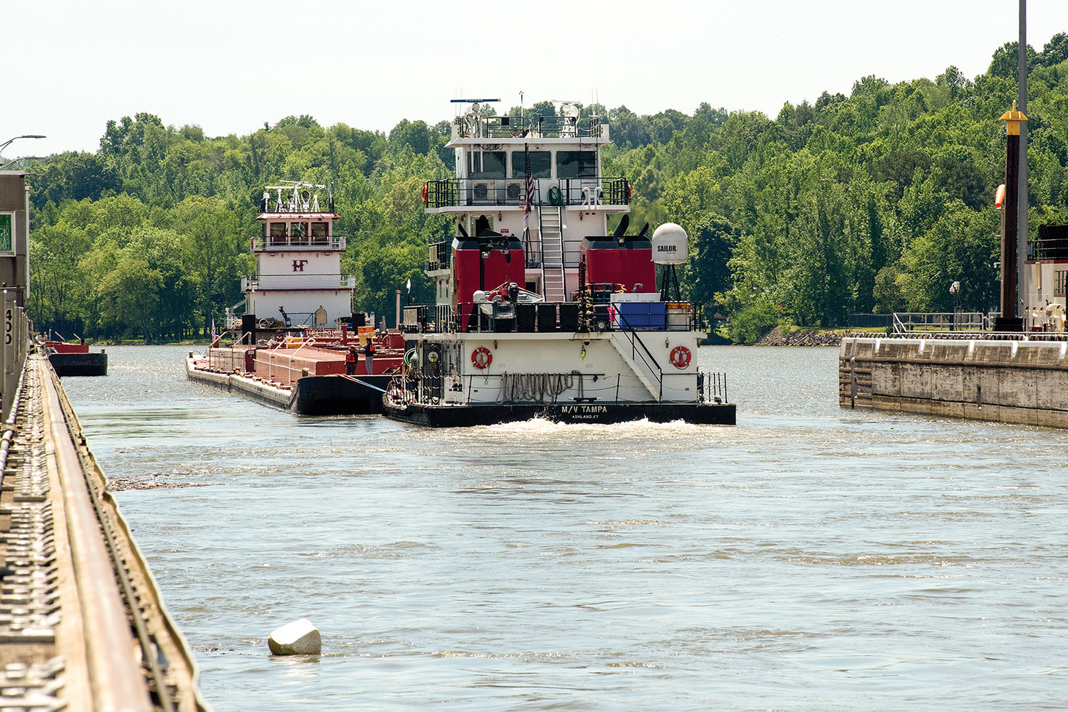 Pipeline Shutdown Research Shows Importance Of Barging