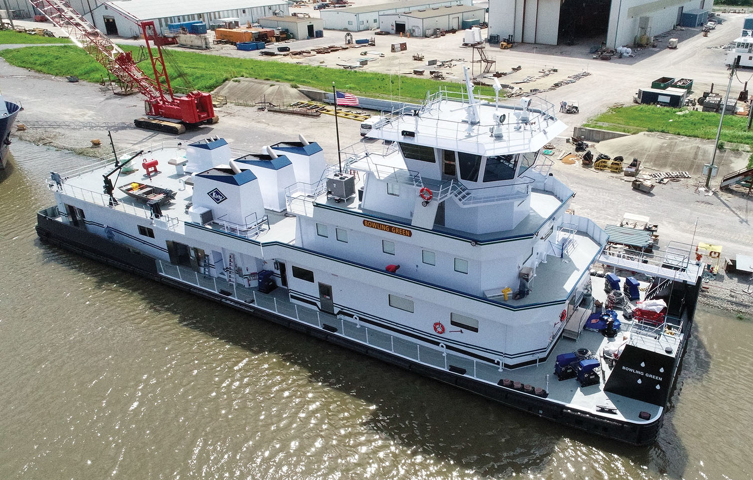 Kirby will operate the 6,600 hp., triple-screw towboat on a long-term lease from Hines Furlong Line.