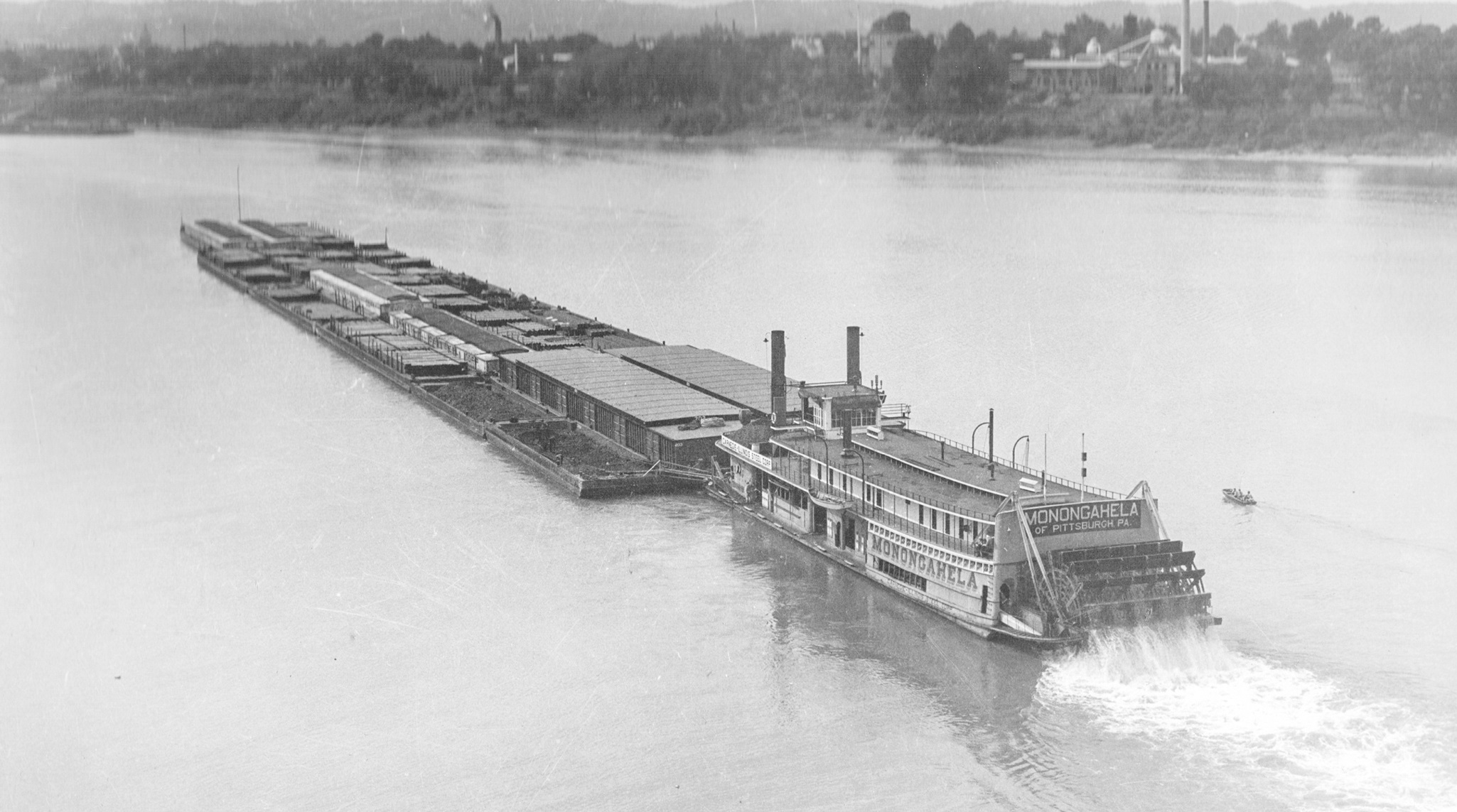 The Steam Towboat Monongahela