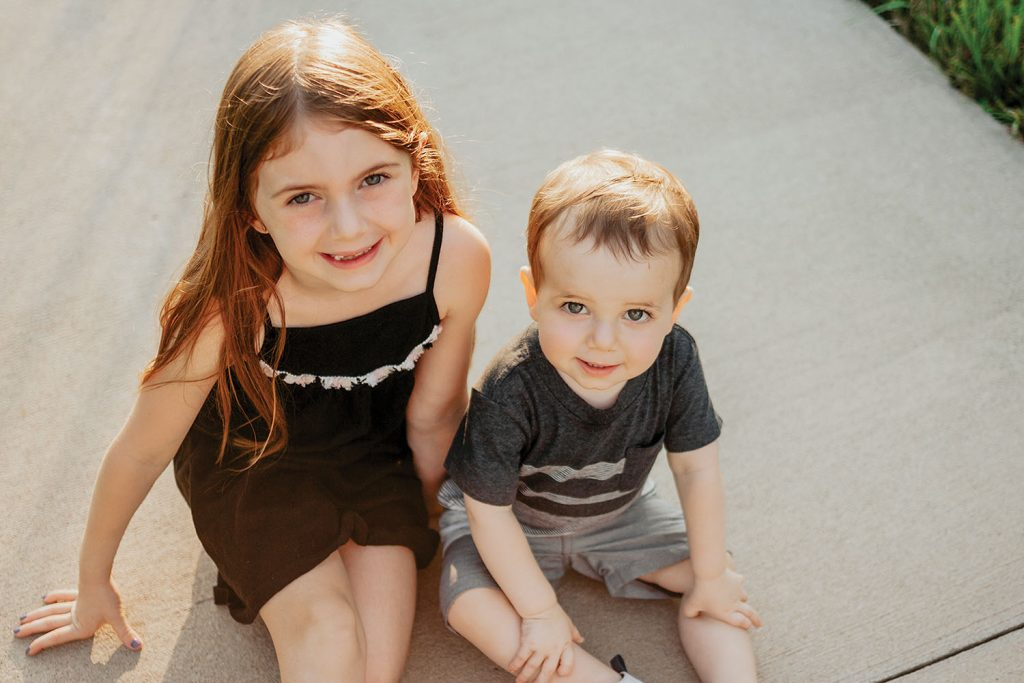 Emery and Jaxon Steines, vessel namesakes. (photo by Bloom & Co. Photography)