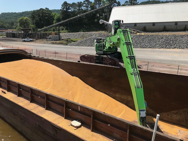 Guntersville Marine Adds New Sennebogen Material Handler