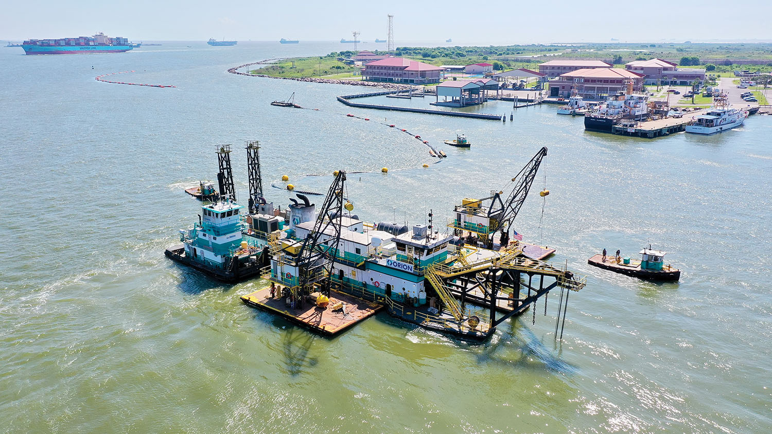 Galveston District Warns Boaters To Stay Clear Of Dredges