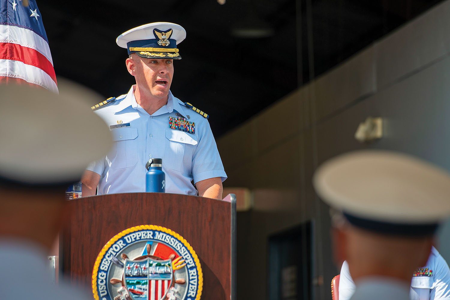 Coast Guard Commissions New Station In St. Louis