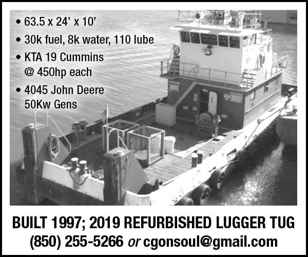Refurbished Lugger Tug