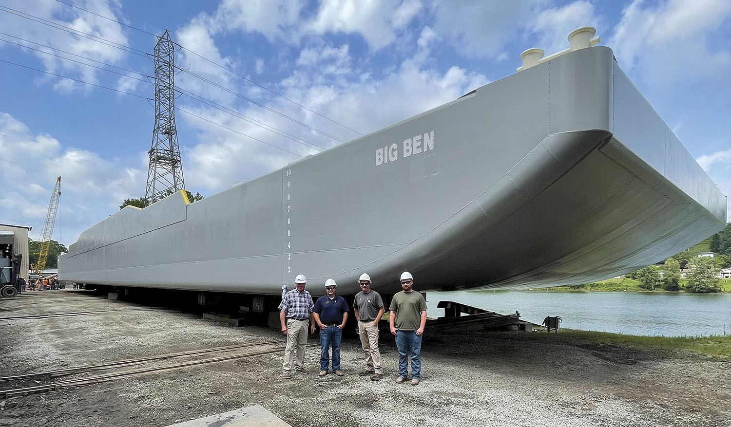 Big Ben Pays Tribute To Long-Serving Luhr Bros. Operator
