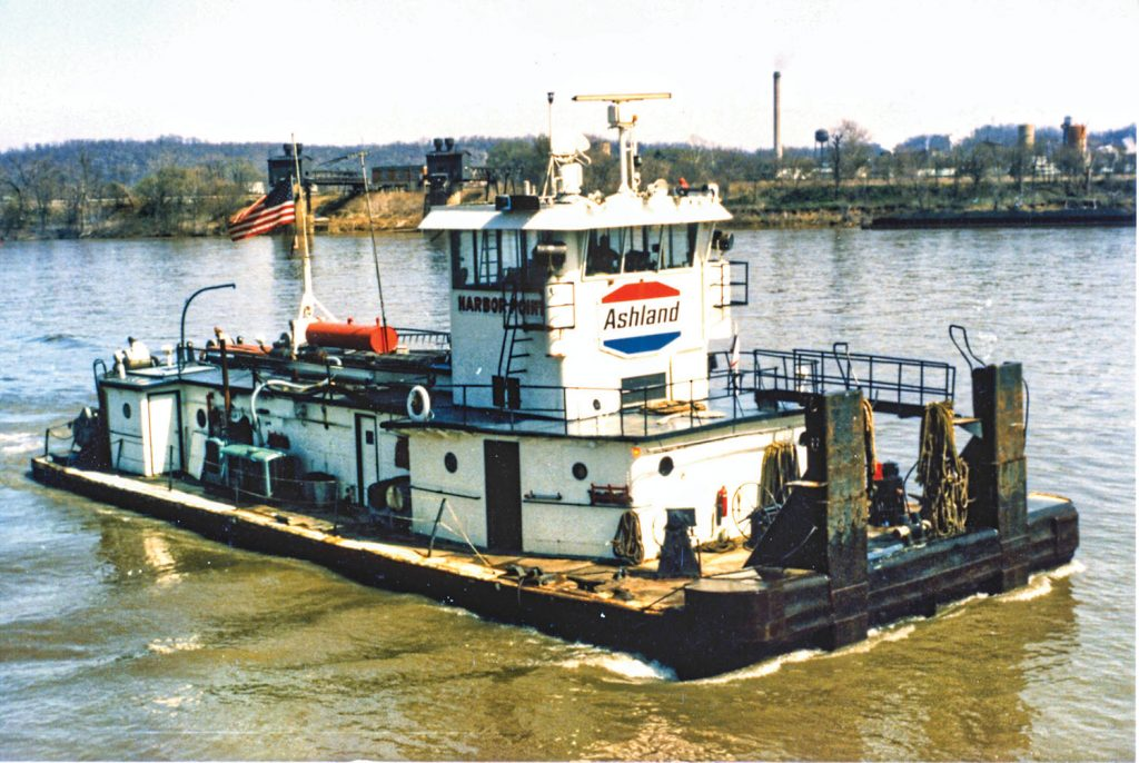 In early service for Ashland Oil. (Dan Owen/Boat Photo Museum)