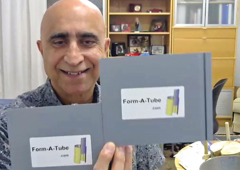 Form-A-Tube founder Mo Ehsani. (Photo courtesy of Form-A-Tube)