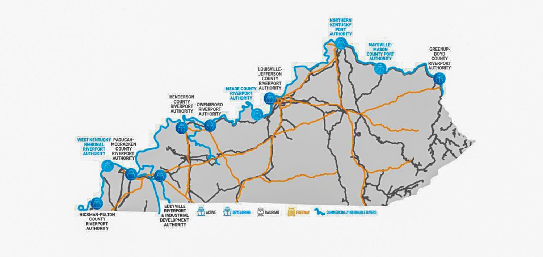 Kentucky Holds Third Riverport Freight Summit