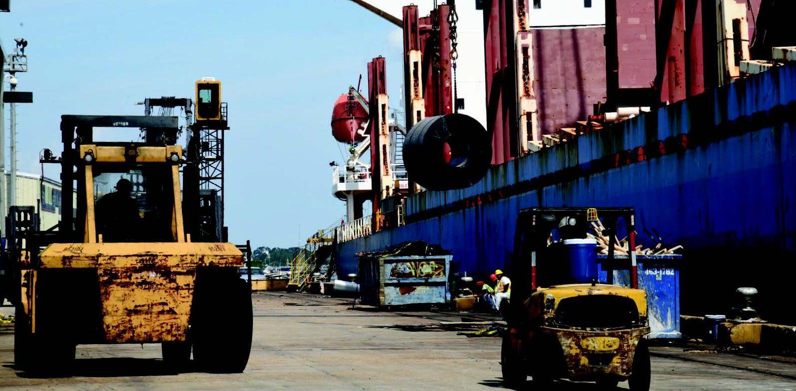 Louisiana Ports Work Toward Recovery