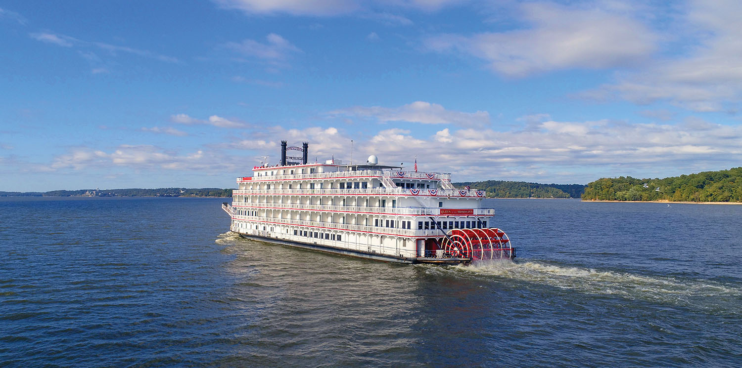 The Queen of the Mississippi will get a new interior design and a new name: American Heritage. (Photo courtesy of American Cruise Lines)