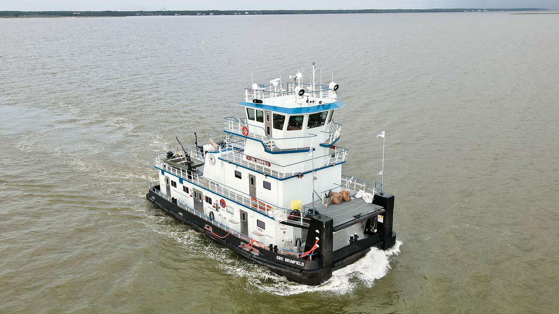 Steiner Shipyard Delivers Mv. Eric Brumfield To FMT
